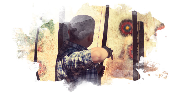 Take your best shot at our archery ranges